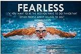 Michael Phelps Eine legendäre Person Leinwand Malerei