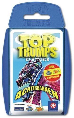 Winning Moves 60833 - Top Trumps: Achterbahnen