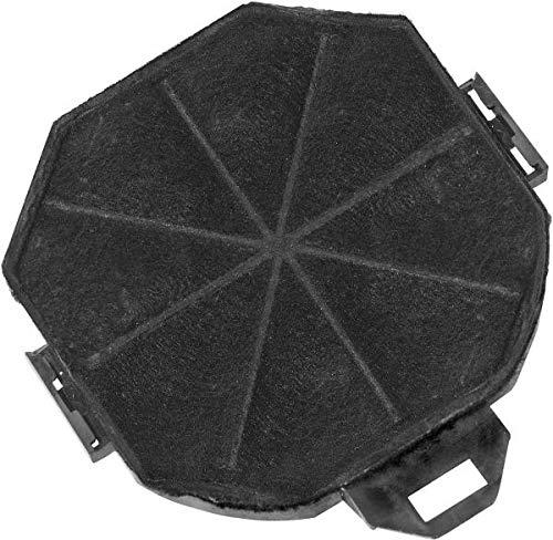 Exquisit 1010036 Filterzubehör für Herdglocke - Zubehör für Kamin (Filter, Schwarz, Exquisit kh90a)