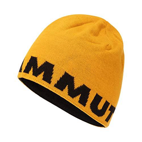 Mammut Uni Beanie Logo, golden-Black, one Size, 1191-04891