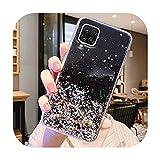 Coque de téléphone Samsung Galaxy A42 5G Galaxy A12 Glitter Star Soft TPU Silicone Phone Case for...