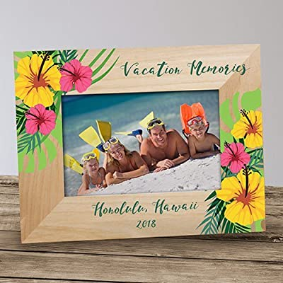 GiftsForYouNow Family Vacation Personalized Frame