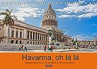 Havanna o la la (Tischkalender 2022 DIN A5 quer): Eindruecke rund um das kubanische Capitol in Havanna (Monatskalender, 14 Seiten )