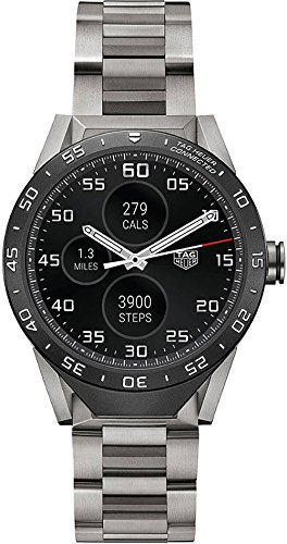 Tag Heuer Connected grade 2 bracciale in titanio 46 mm Smart Watch...