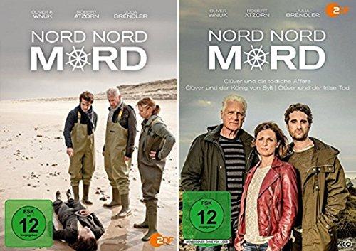 Nord Nord Mord - Teil 1-3 + Clüver und die tödliche Affäre / Clüver und der König von Sylt / Clüver und der leise Tod