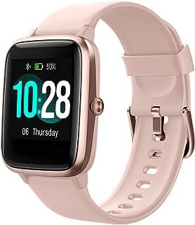 Smart Watch Fitness Tracker with Heart Rate Monitor, Pedometer, Sleep Tracker, Waterproof Activity Tracker for Men Women F...