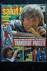 Salut ! 097 n° 97 1979 ABBA Gérard LENORMAN John et Joey TRAVOLTA DAVE
