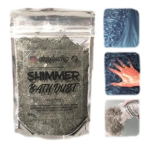BlackBerry Stsfybaths Shimmer Bath Bomb (Black, Large)