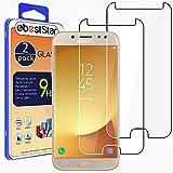ebestStar - [2 Pack kompatibel mit Samsung Galaxy J5 2017 Panzerglas SM-J530F Schutzfolie Glas, Schutzglas Bildschirmschutz, Bildschirmschutzfolie 9H gehärtes Glas [Phone: 146.2 x 71.3 x 7.9mm, 5.2'']