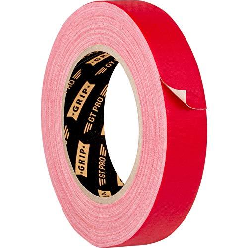 GRIP Eventbasics GT PRO Gewebeband rot, 25 mm x 25 m, Gaffa Tape ablösbar, matt und beschriftbar