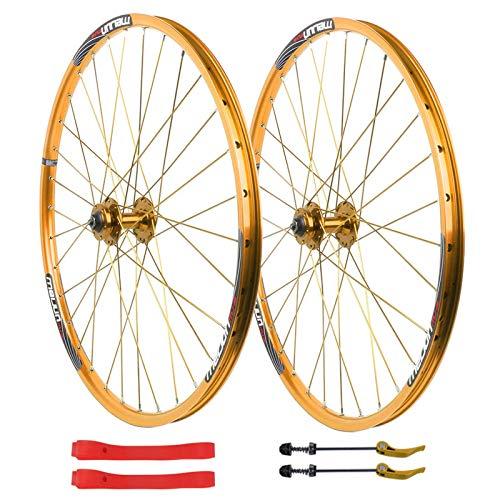 ZNND Set Ruote Bici 26 Pollici Ruote Ciclismo per Mountain Bike MTB Freno Disco 7 8 9 10 velocità...