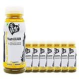 &Me NutriHair Drink For Hair Growth. Amino Acids, Biotin, Amla, Coconut, Bhringraj, Orange Flavor - 1.6lt (Pack of 8)