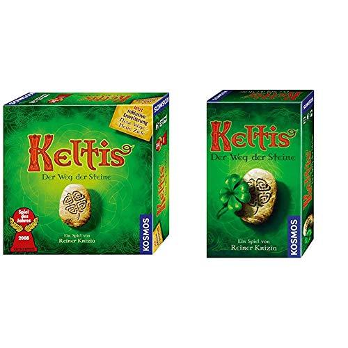 Kosmos 691783 - KOSMOS - Keltis (inkl. Erweiterung) & 699277 Keltis - Mitbringspiel