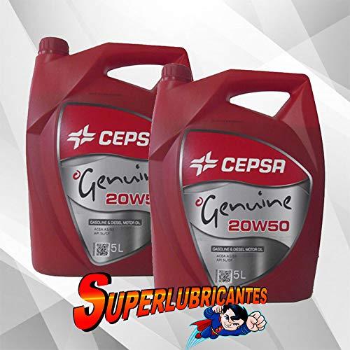 CEPSA Genuine 20W50 2X5L(10Litros)