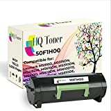 HQ Toner Compatible Replacement Toner Cartridge for Lexmark 50F1H00 501H Works in Lexmark MS310dn MS312dn MS310 MS312 MS610dn MS510dn MS310d MS315dn MS410d MS410dn MS610de (High Yield 5k)