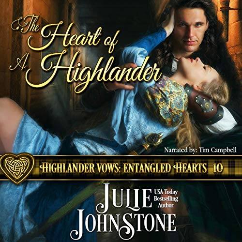 The Heart of a Highlander audiobook cover art