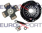 Competition Clutch Disc and Pressure Plate Kit for Honda H22 Prelude 2.0L 2.1L Ceramic 4 Puck Rigid/Solid Stage 5 8014-0420