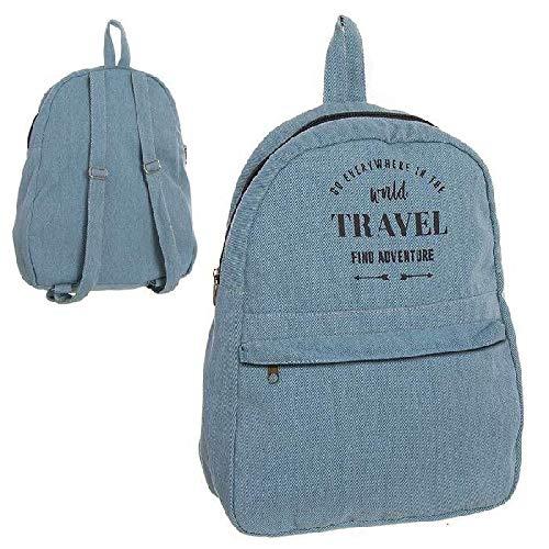 DCASA Adventure Mochila Tiempo Libre y Sportwear, Adultos Unisex, Azul (Azul), Talla Única
