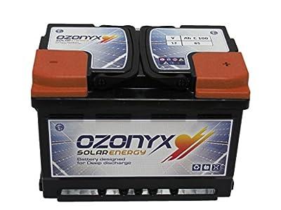 Batería Solar 85Ah OZONYX Solar Abierta