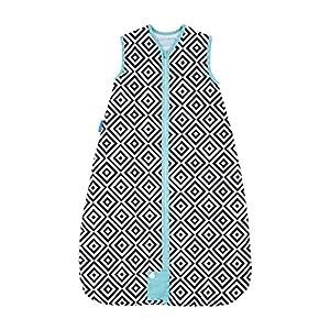 Tommee Tippee GRO Saco de dormir Grobag, 6-18 m, 2.5 TOG, Diamantes de azabache