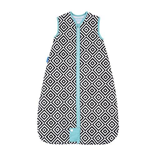 Gro AAA5817 Jet Diamonds Travel Schlafsäcke Grobag, 2.5 Tog, 18-36m, 105cm, mehrfarbig