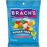 Brach's Sugar Free Gummy Bears, 3 Ounce, Pack of 12