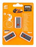 Zoom IMG-1 worx wa0190 lame di ricambio