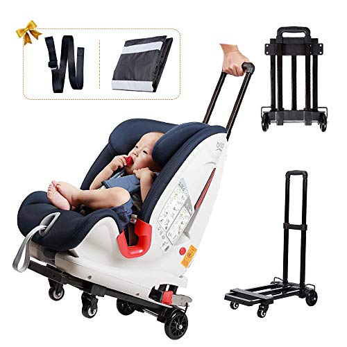 Car Seat Stroller,Go Carts for Kids,Car Seat Carrier for Airport with Wheels and Compact Fold,Includes Car Seat Travel Bag and Belt