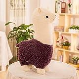 YLBHD Alpaca Plush Doll Simulation Toy Cute Cartoon Soft Sheep Animal de Peluche Regalos de cumpleañ...