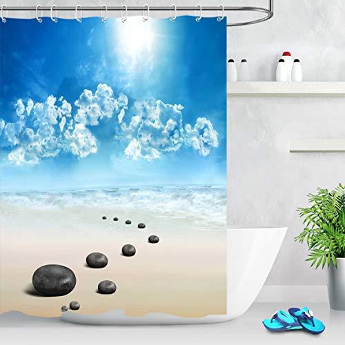 cortinas baño zen