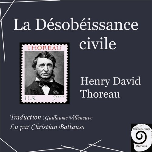 La Désobéissance civile audiobook cover art