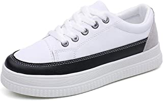 Bluestercool Espadrilles Mixte Adulte Casual Loafers Fashion Lace Up Chaussures de Sport Sneakers Femmes Hommes Mocassins Chaussures Plates Slip-On Running Shoes