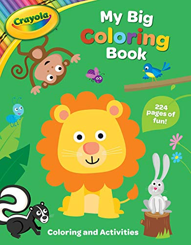 Crayola My Big Coloring Book (Crayola/BuzzPop)