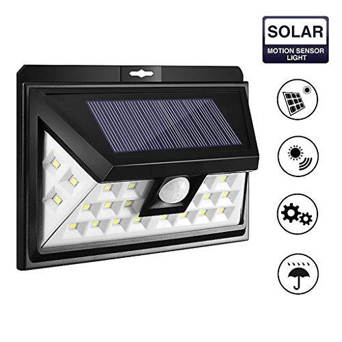YS&VV 24LED zonlicht outdoor waterdichte zonne-veiligheid lichten met bewegingssensor draadloze zonne-lamp thuis Yard tuin verlichting