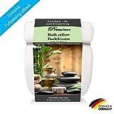 SilverRack Badewannenkissen mit Saugnäpfen als Badewannen Zubehör - Kissen für