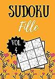 SUDOKU FILLE: Vol. 4   100 pages   Niveau facile   Solutions incluses