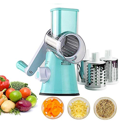 7 in 1 Vegetable and Onion Choppers, Mandolin Slicer and Food Dicer,Multifunctional Cutter, Includes Mandoline,Spiral and Ribbon Slicer, Best for Potatoes, Carrots and Tomatoes