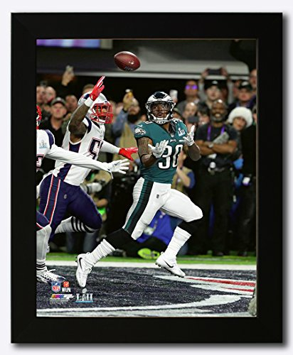 Philadelphia Eagles Corey Clement Scores a Touchdown During Super Bowl 52 Framed 8x10 Photo, Picture
