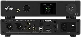 Sabaj D5 Hi-Res Audio Convertidor Digital a Analógico Balance HiFi Auriculares Amplificador DAC Chip ES9038PRO ES9311 32bit / 768kHz DSD512 con Preamplificador Control Remoto