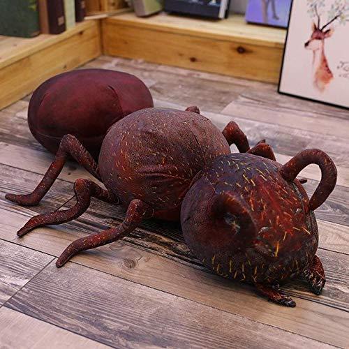 N / A Precioso Nuevo y Divertido Juguete de Peluche de Hormiga de simulación muñeca de Peluche decoración del hogar sofá Almohada cojín Amigo niño niños 45cm