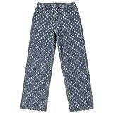 N-B Streetwear Ripped Y2k Jeans for Women Wide Leg High Waisted Baggy Cargo Pants Oversized Boyfriend Pants Women Blue