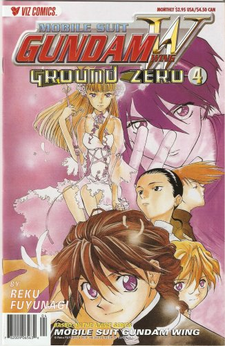 Mobile Suit Gundam Wing Ground Zero Comic #4 (Ground Zero)