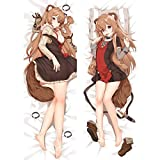 The Rising of The Shield Hero Raphtalia Anime Dakimakura Pillow Cover Bedding Pillowcases 16'x47' P865