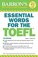 Essential Words for the TOEFL (Barron's Test Prep)