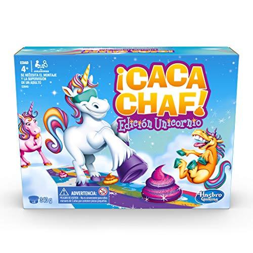 Hasbro Gaming - Juego infantil Unicornio Cacachaf (Hasbro E2645546)