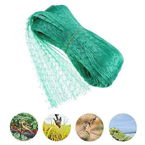 MIFASA Anti Vogelschutznetz, Mesh Garden Plant Netting Wiederverwendbarer Zaun Schutz für Sämlinge Pflanzen Blumen Obst Bäume Gemüse
