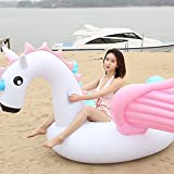 Flotador inflable de unicornio para piscina