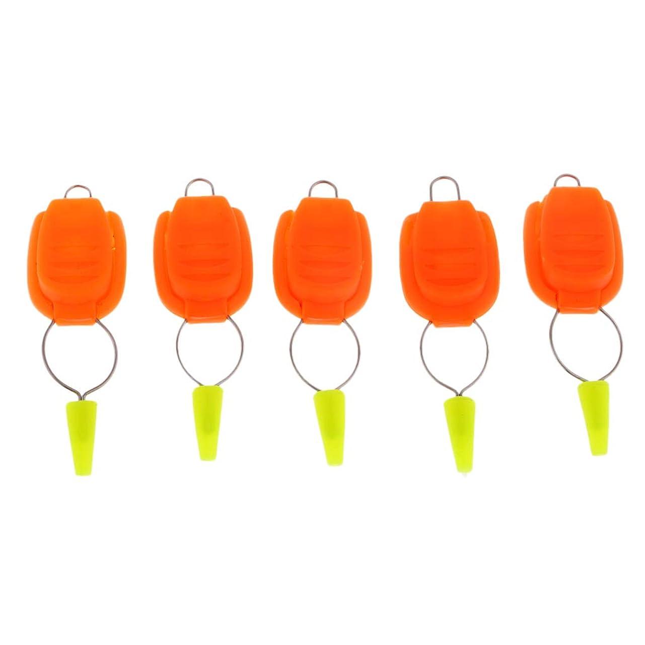 魅力的であることへのアピール光沢のある観点Sharplace ラインストッパー 5ピース 釣り糸用 全5カラー