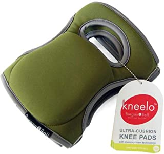 Burgon & Ball GKN/KPADMOSS Kneelo Gardening Knee Pads, Moss