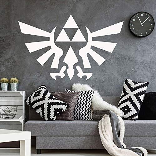 XCSJX Patrón de Arte de la Pared Decal Etiqueta de la Pared Material para la habitación de los niños decoración del hogar Cartel Mural 47x73cm